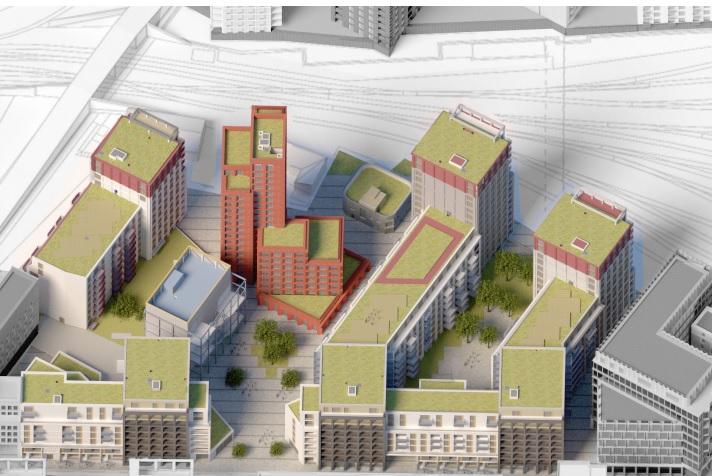 Development site Dublin 1