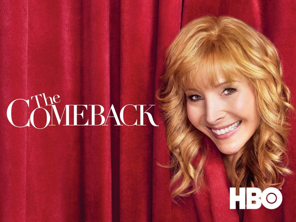 Lisa Kudrow stars Ex-sitcom star stars as an ex-sitcom star in The Comeback